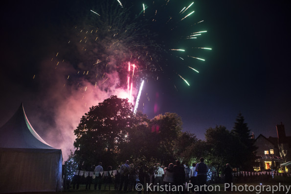 Nicks Wedding Fireworks