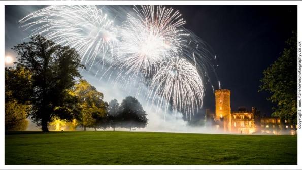 Wedding Fireworks Swinton