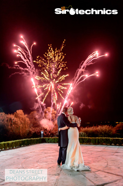 bride-and-groom-firework