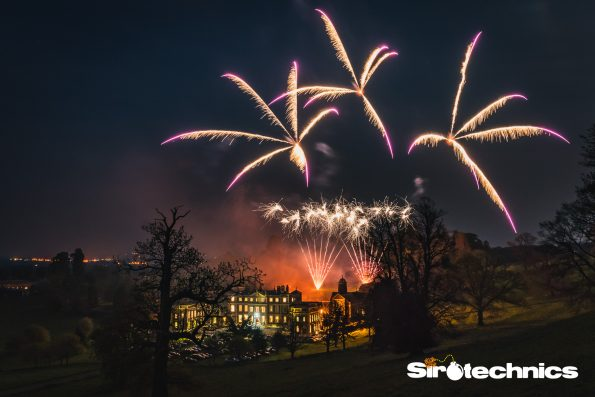 Hawkstone Hall Fireworks